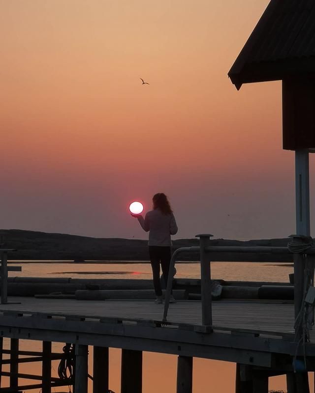 Fang midnattssola en rød sommerkveld © Sigridjst/Lovund Event