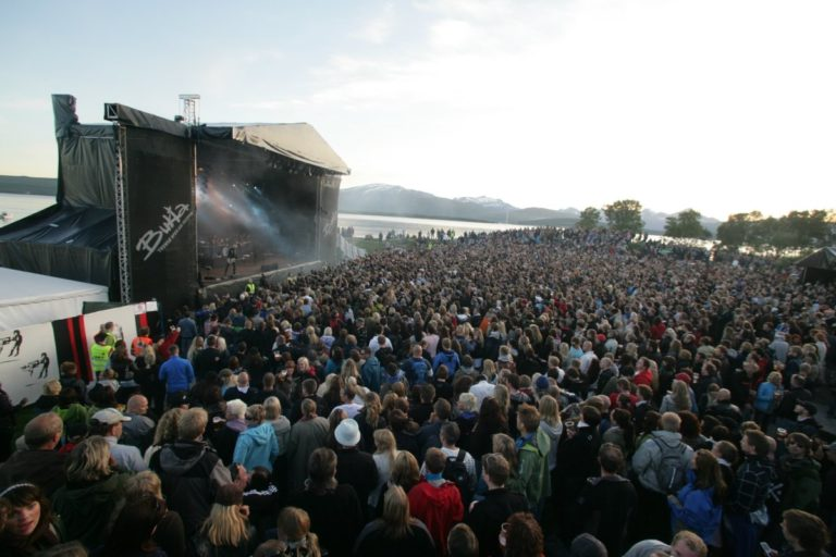 Summer weather can be perfect for the festival © Yngve Olsen Sæbbe