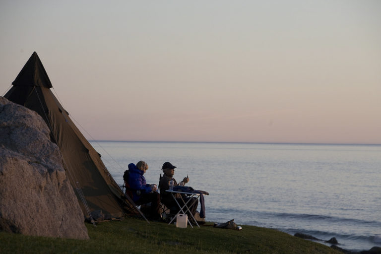 Camped up at Uttakleiv © Espen Mortensen/EsMo Foto