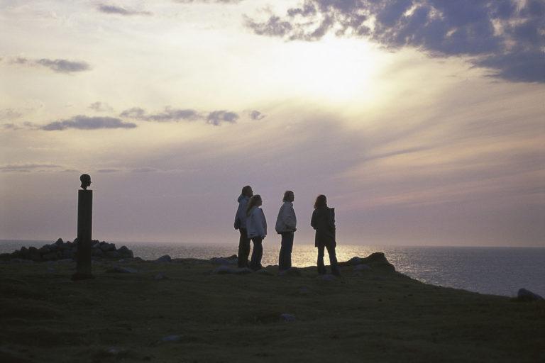 Looking into the horizon at Eggum © Terje Rakke/Nordic Life