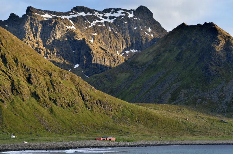 On the seaward side of the islands © Jarle Wæhler/Statens vegvesen