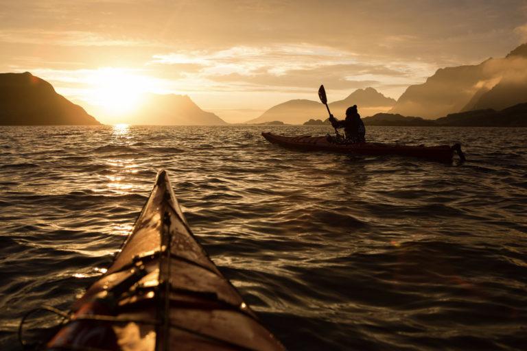 Gyllen padling i Lofoten © Kristin Folsland Olsen