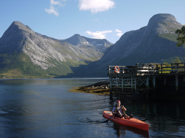 Kayak trips around the area can take you through classic landscapes © Gunnar Egeberg