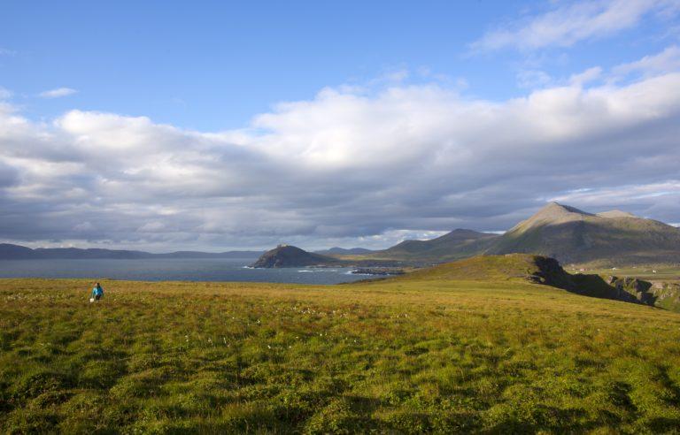 Landskapet på Sørøya er vidt, åpent og barskt © Anne Olsen Ryum