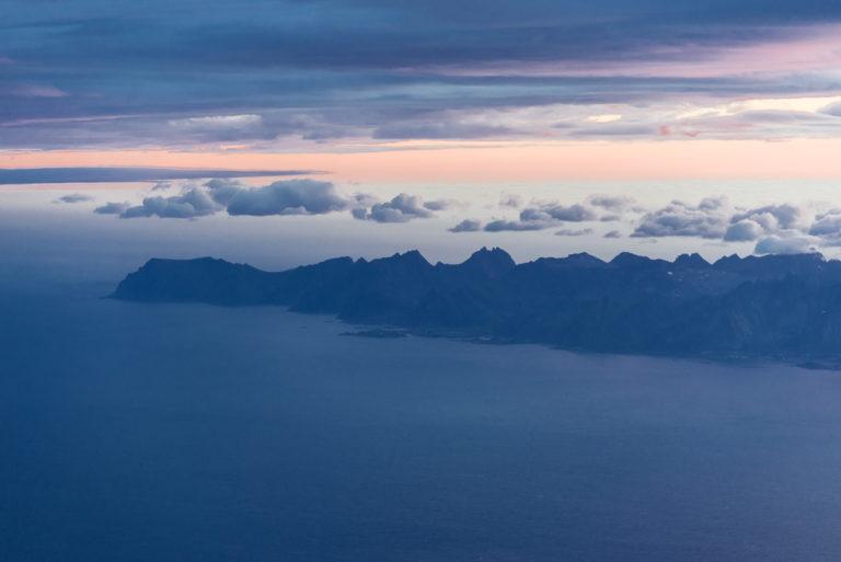Tar du sisteflyet til Lofoten, kan det se sånn ut © Steinar Skaar/Statens vegvesen