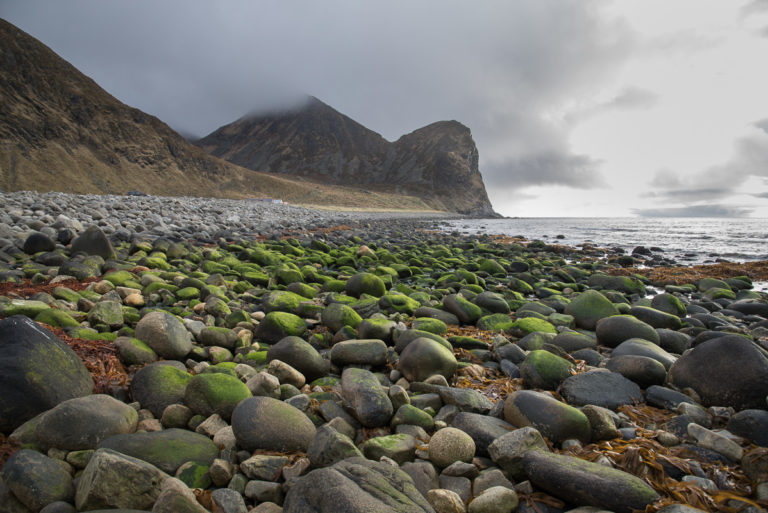 The weather changes all the time at the rough Northern Coast of Lofoten © Steinar Skaar/Statens vegvesen