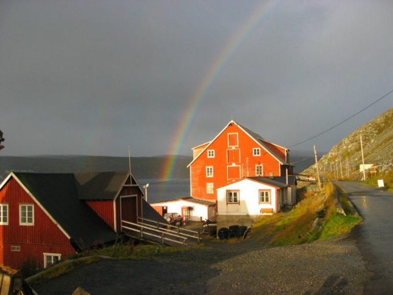 Showery summer days are common at Kjøllefjord © Foldalsbruket