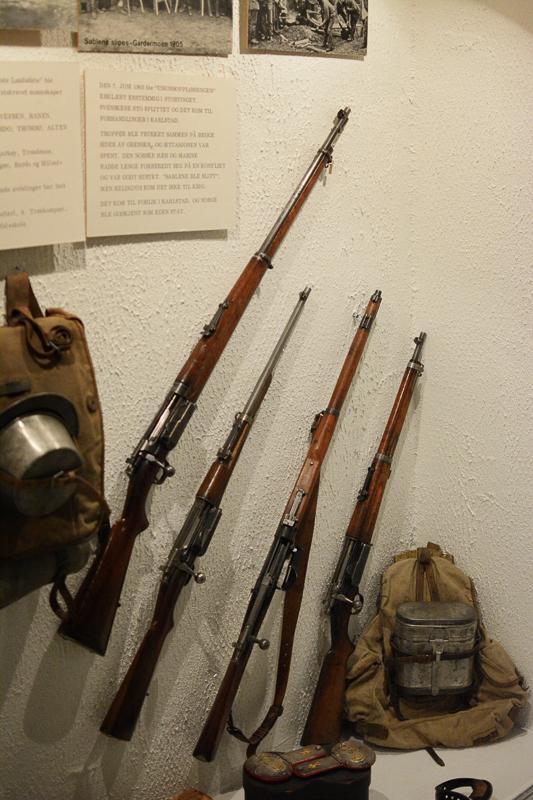 Utstyr fra militærmanøver før krigen © Knut Hansvold