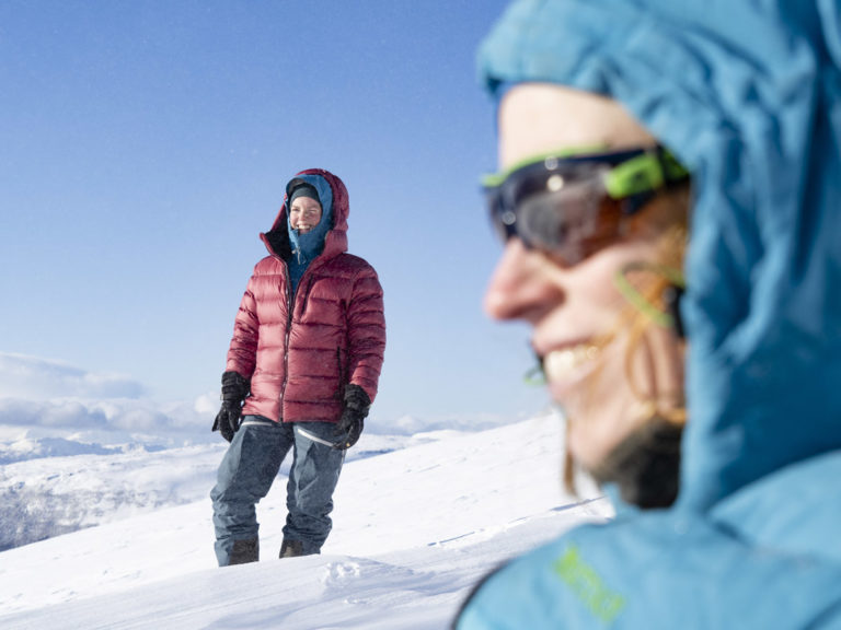 Layers with a windproof jacket on top is a recipe for success © Kristin Folsland Olsen
