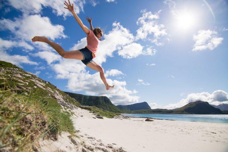 The coast of Norway is full of beaches © Kristin Folsland Olsen