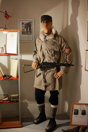 Norsk soldat i Canada under 2. verdenskrig © Knut Hansvold