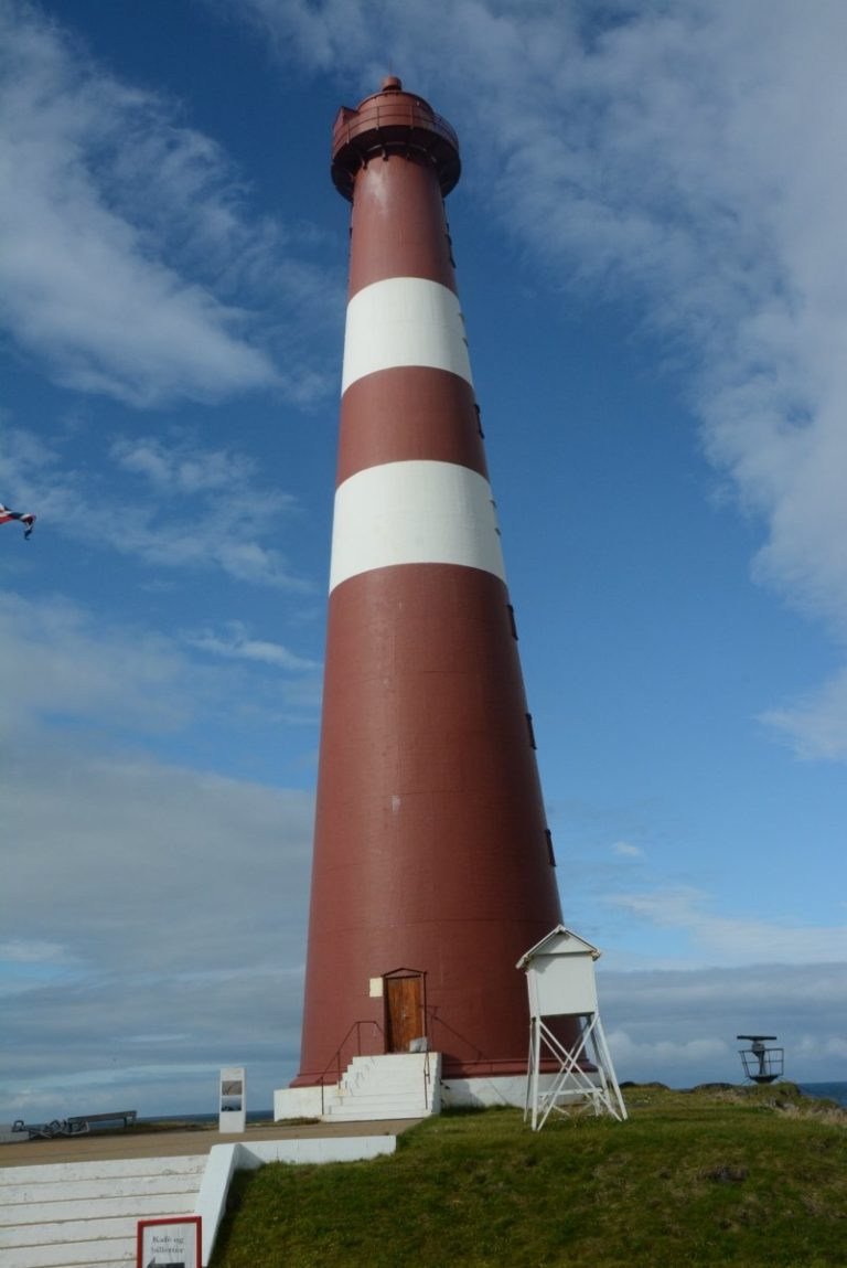 The lighthouse is a towering landmark easily seen from miles around © Knut Hansvold