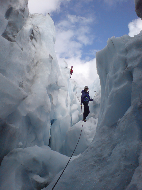 It is possible to take a tour onto the glacier itself © Synatur