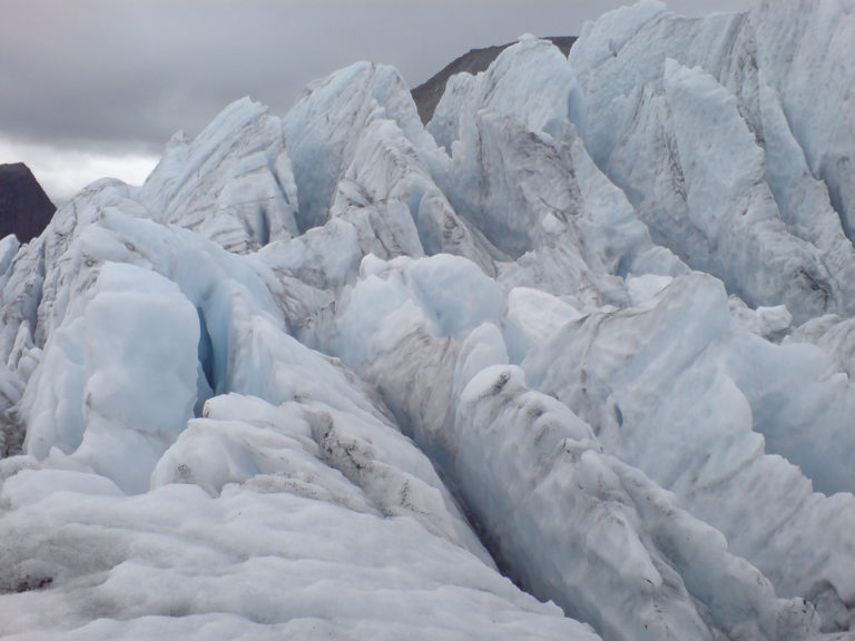 Up close and personal with the glacier © Synatur