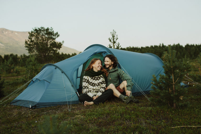 Camping is allowed for 2 nights on the same location © Frida Xiang