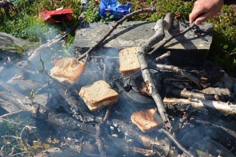 Ingenting som et ostesmørbrød smurt på Jotka om mårran © Knut Hansvold