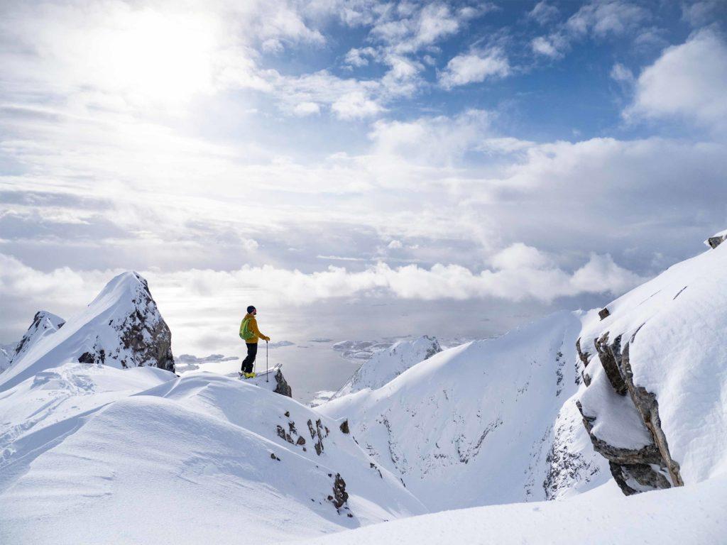Topptur i lofoten fjell