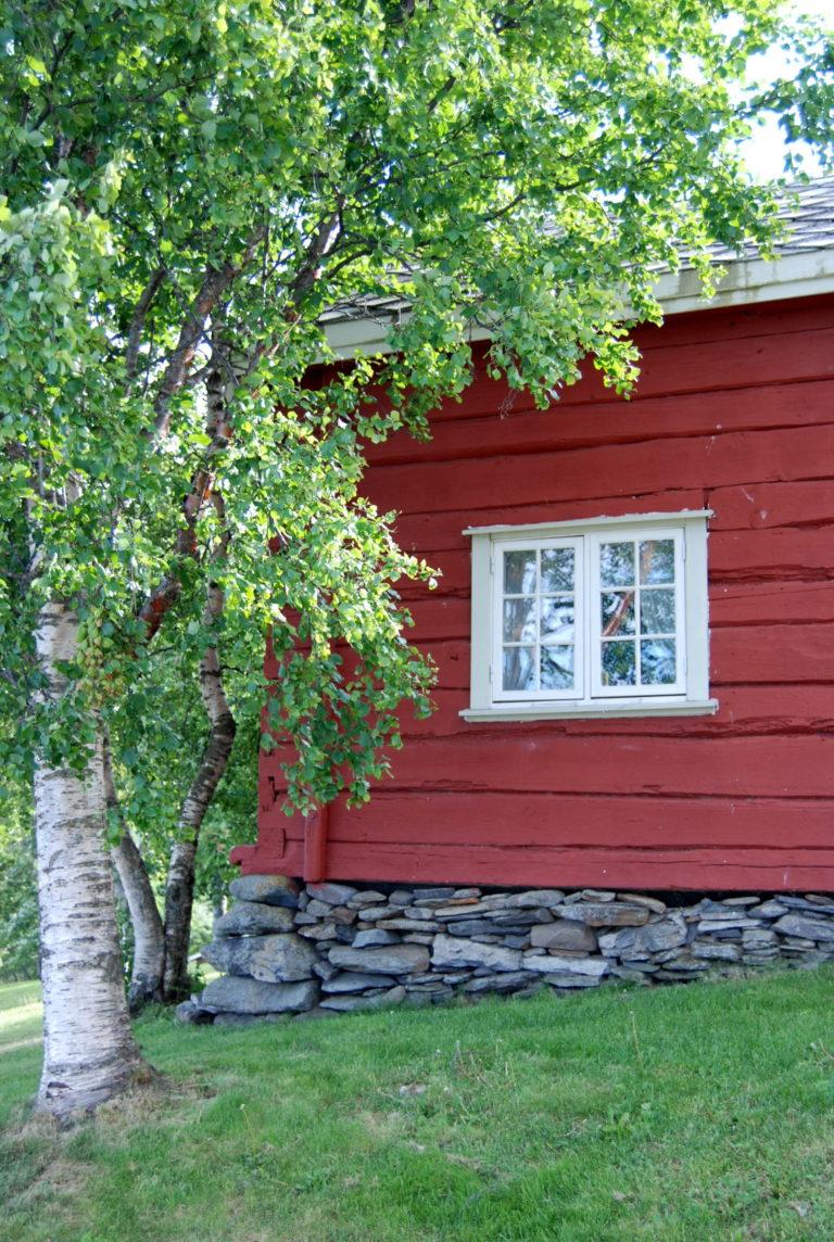 Rødmalt idyll © Røkenes gård