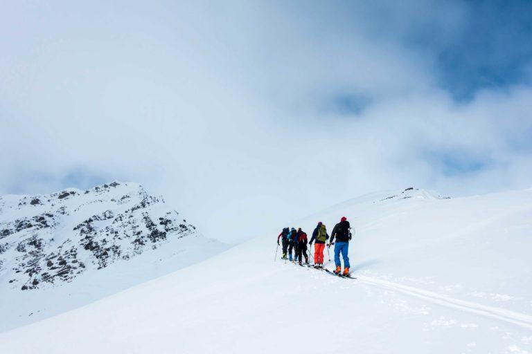 Bruk guide når du drar på topptur på Svalbard © Mats Hoel Johannessen