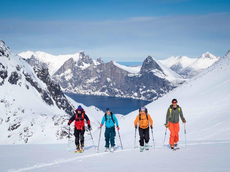 Når du er på guidet tur er bransjestandarden maks 6 personer + guide © Kristin F. Olsen