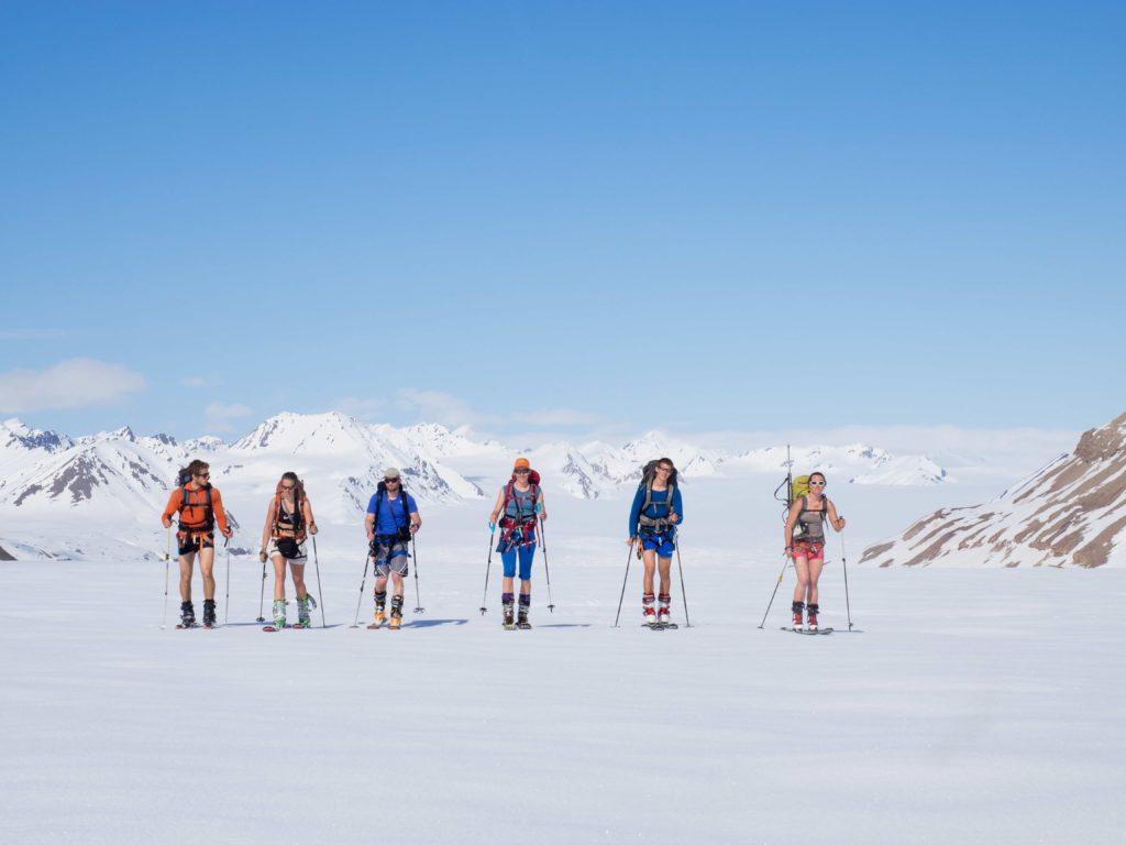Topptur på Svalbard med venner