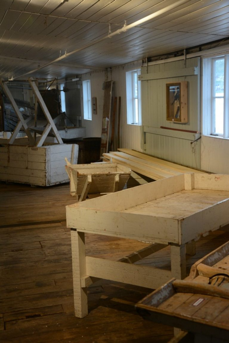 Workshop area that's been running for decades © Knut Hansvold