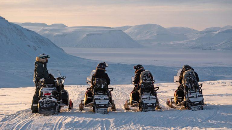 På vinteren er det skuter som gjelder © Basecamp explorer