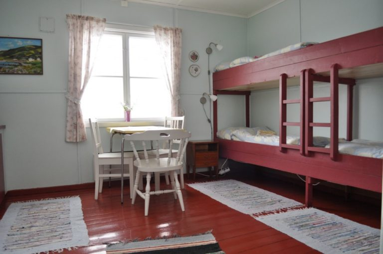 Most fishermen would stay in bunk bed accommodation © Nordkappmuseet