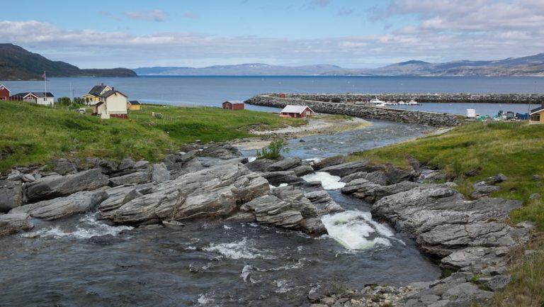 Kokelv er en sjøsamisk grend © Jarle Wæhler/Statens vegvesen