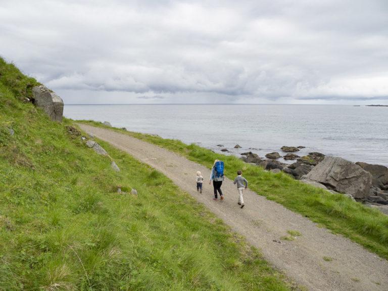 Turen mellom Haukland og Uttakleiv passer for alle © Kristin Folsland Olsen