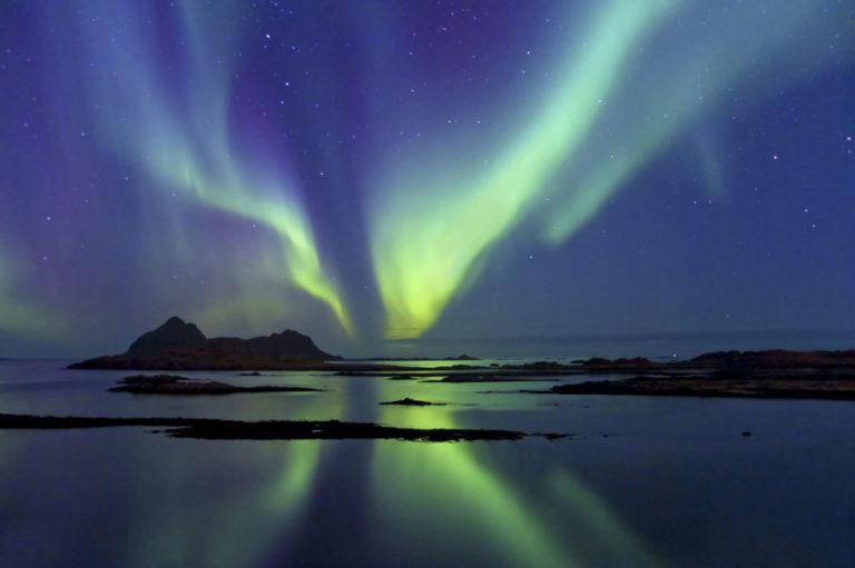 En stille natt i Bø © Øystein Lunde