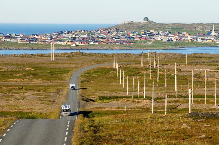 På vei fra Vardø til Hamningberg © Jarle Wæhler, Statens vegvesen