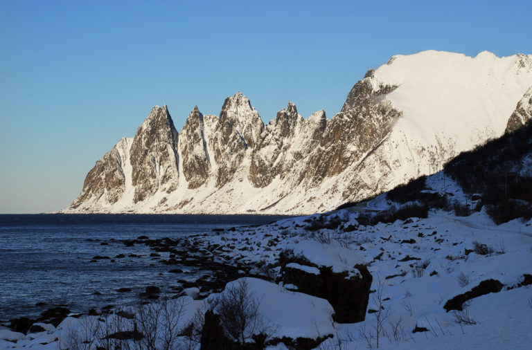 Okshornan en flott vinterdag @ Hugo Fagermo/Statens vegvesen