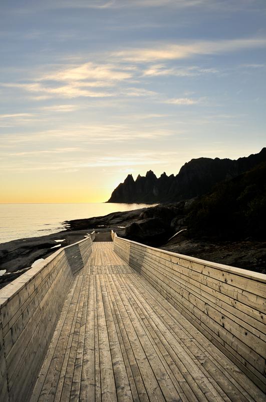 Norwegian Scenic Route Senja © Steinar Skaar/Statens vegvesen
