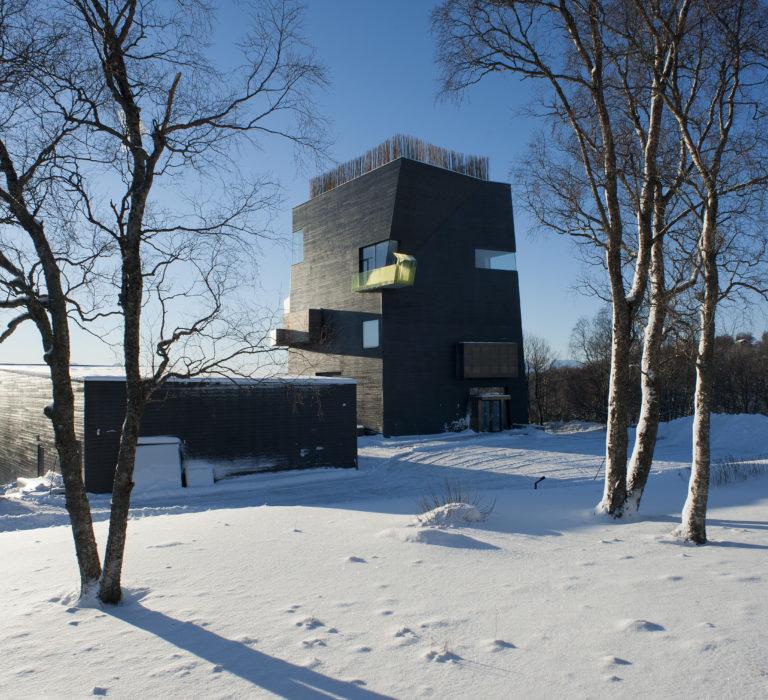 Winter time at the centre © Ernst Furuhatt