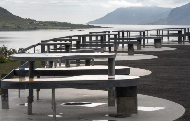 Wipe the seat and sit down © Jarle Wæhler/Statens vegvesen
