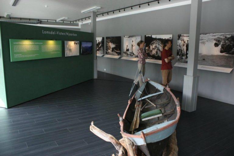 I utstillingene under kafeen får du hele historien © Helgeland Museum avd Grane