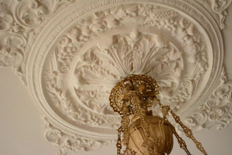Fine ornamental detail can be seen throughout the house, something rarely seen in modern Norwegian homes © Museum Nord Vesterålsmuseet