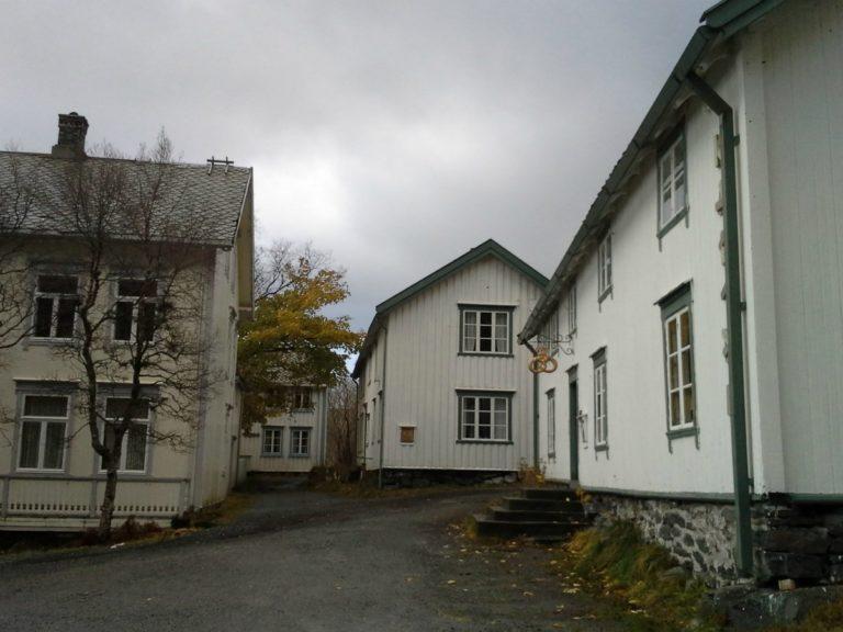 The buildings of an old village make up the museum © Norsk fiskeværmuseum Lofoten