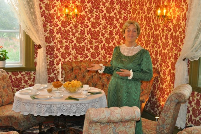 Be welcomed to the manor house by your host © Museum Nord Vesterålsmuseet