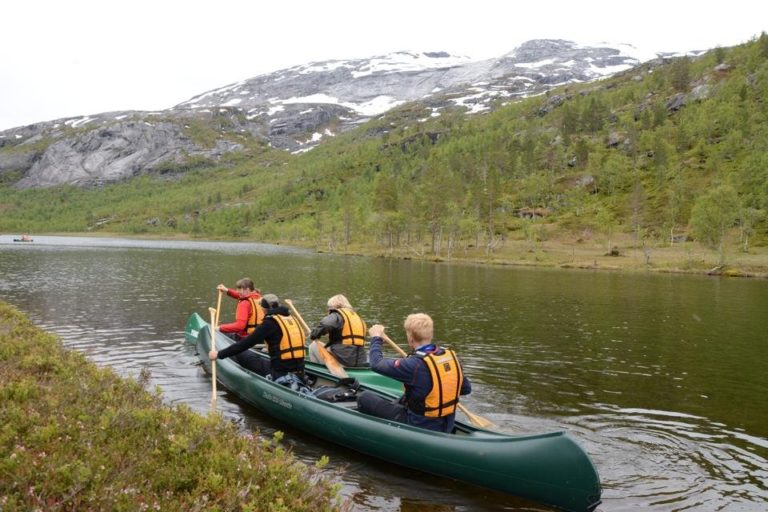 Andre padleetappe er i gang © Knut Hansvold