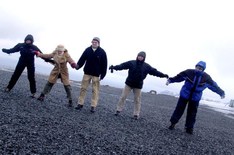 Hold balansen på Nordkapp! © Trym Ivar Bergsmo