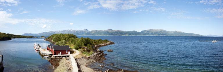 The location along is worth visiting © Akvakultur i Vesterålen