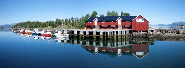 Set amongst sheltered waters, perfect conditions for fishing © Akvakultur i Vesterålen