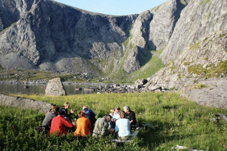 Pause i Refsvika © Aqua Lofoten Coast Adventure AS
