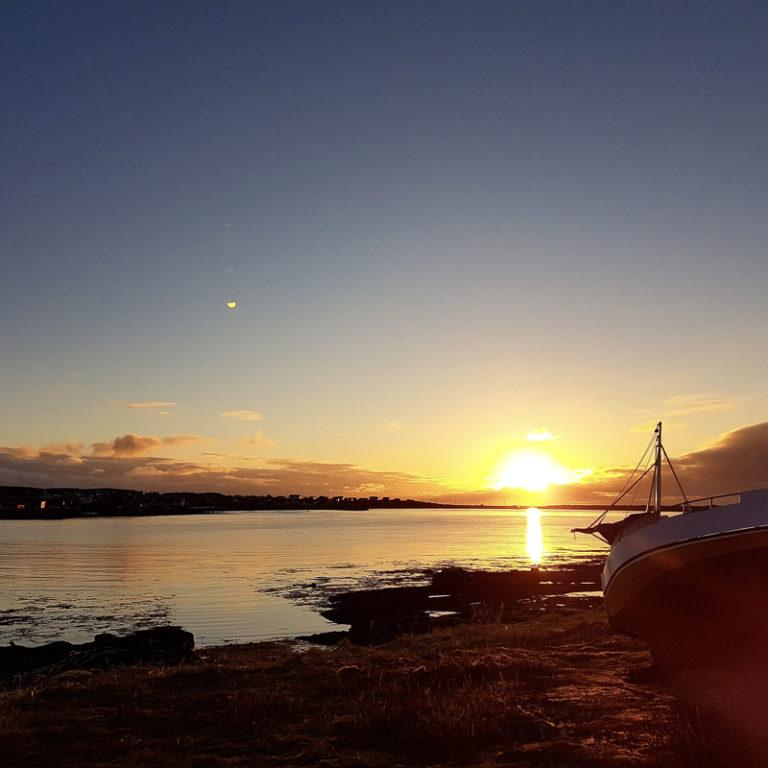 Midnattssola i Berlevåg © Lene Kristin Olsen