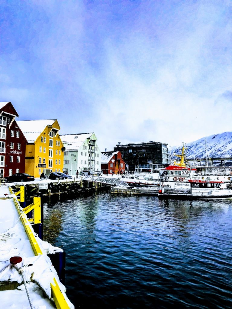 Tromsø is intimately connected with the Tromsø Sound © Knut Hansvold