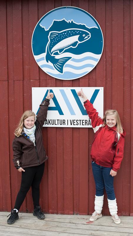The entrance © Kine Anette Johnsen/Akvakultur i Vesterålen