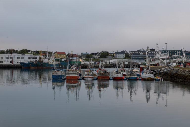 I Båtsfjord handler det om fiskerinæringa © FotoKnoff