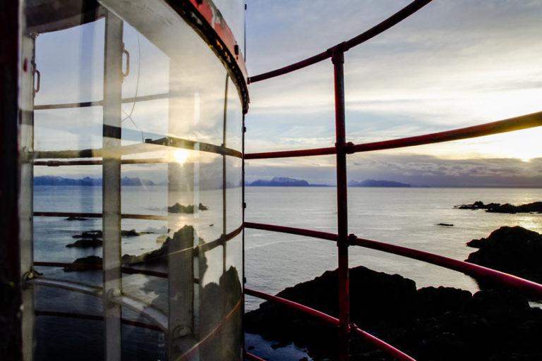 Views from the lighthouse tower © Litløy Fyr